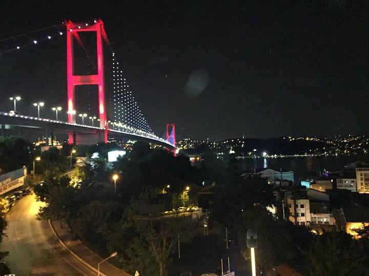 Boğaz Manzaralı Ortaköy Merkez'de Lüks Köşk 6+2