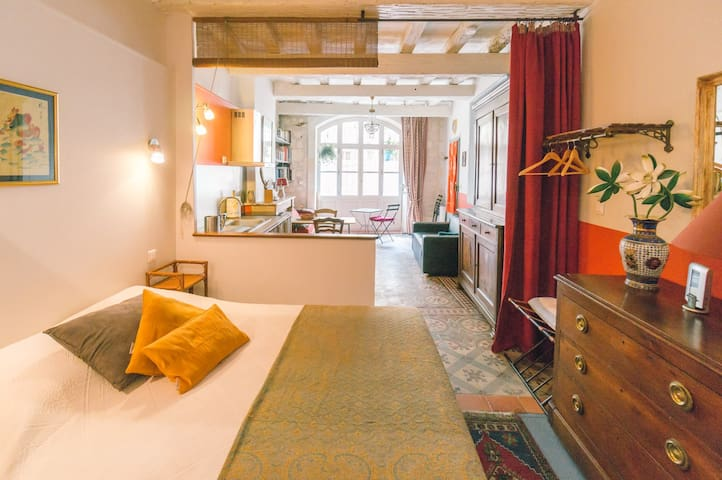 Studio de charme à 2 mn des Arènes - 阿爾勒 - 公寓