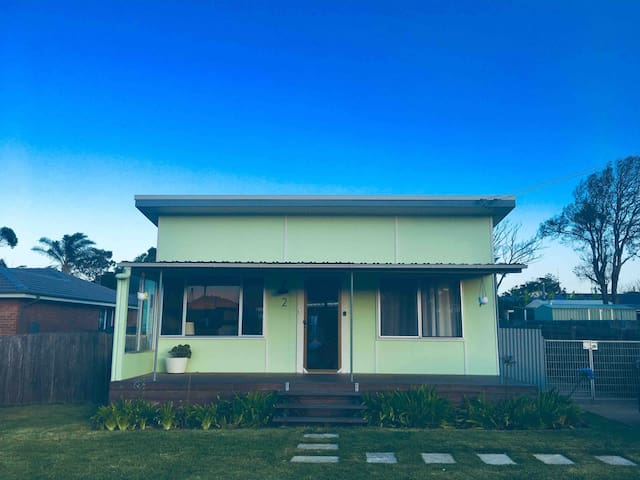 Fully renovated retro beach shack
