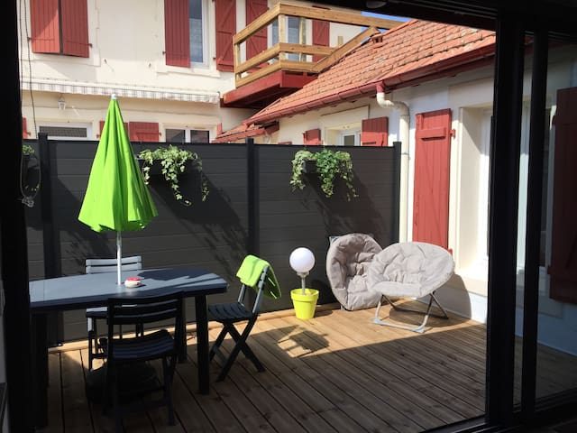 Charmant T2, neuf, plages par pistes cyclables - Anglet - Apartment