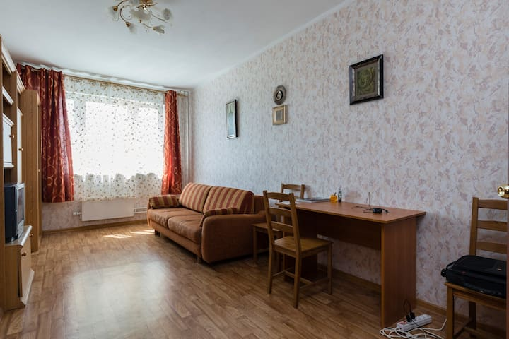 1BR Condo on Vernadskyy Prospekt - Moskva - Apartment