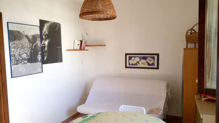 Apartment with one bedroom in Melendugno, with furnished balcony - 200 m from the beach