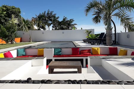 Villa l'îlot du sud avec piscine