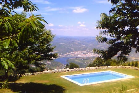 Wood Chalé with private pool - Lamego