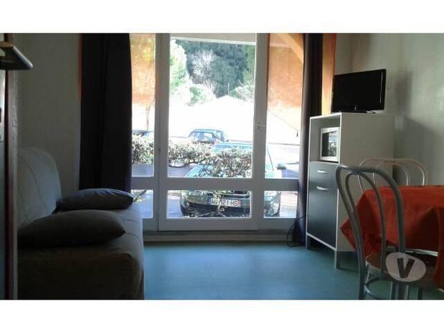 loue studio meublé et équipé - Lamalou-les-Bains - Apartamento