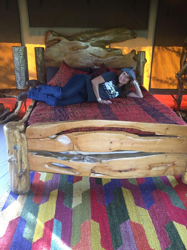 Kambi Amani Eco Camp (Camp of Peace) Nakuru Kenya
