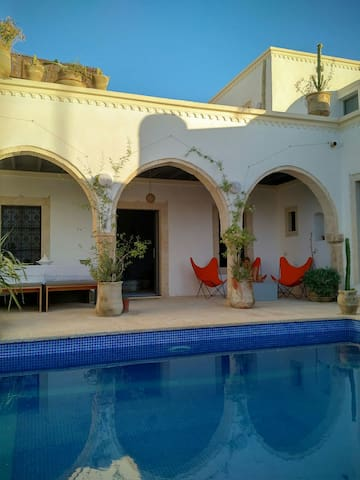 Beau houch Erriadh (4 suites) - Hara Sghira Er Riadh, Medenine, TN - Casa