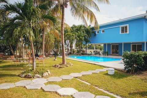 V Royal Duke: beachfront villa with swimming pool