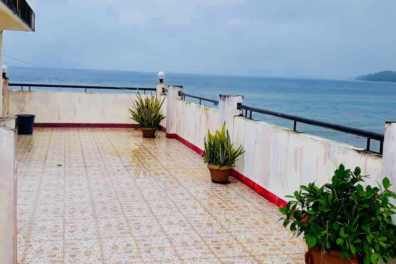 Rooftop Terrace overlooking the Ocean