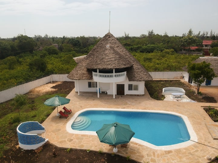 Nature's Villa:  Newly constructed and spacious.