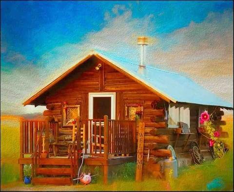 Mountain Log Cabin~ SAUNA, HOT TUB, Fire-pits