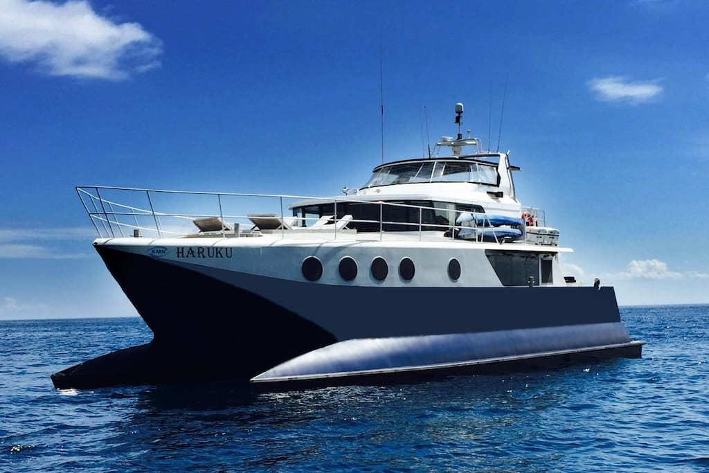 Magnificient Haruku: 12 knots cruising speed.
