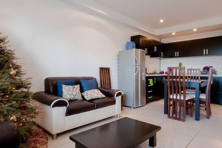 Casa del Carmen - 2 BR, ocean view, 5 min to beach - Playa del Carmen - Apartment