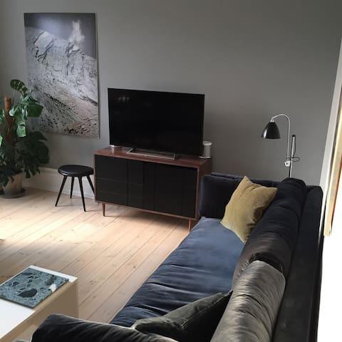 Tæt ved vandet, shopping og station - Hellerup - Apartment