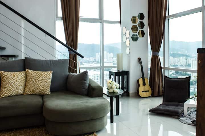 Top Floor Penang Seafront Condo