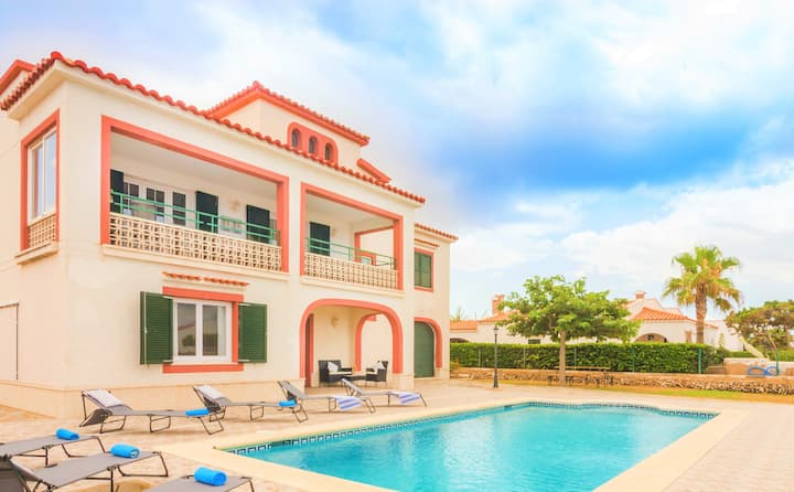 -%%%❤️Villa Antonita❤️ seaview, AC, Pool, WiFi