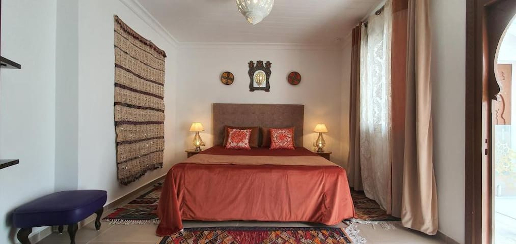 Cozy Room at Riad Dar Blanche