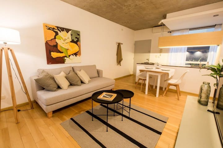 Design apartment w/Private Patio Palermo Hollywood
