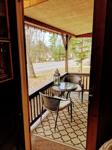 Enjoy Coffee and Conversation on the front porch!