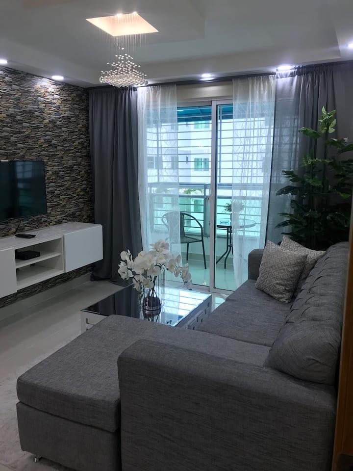 Apartamento acogedor, frente al mar. 1 habitación