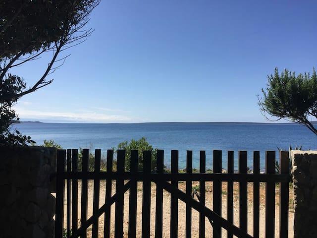 Villa Suncica, FIRST ROW BY THE SEA-House/Silba