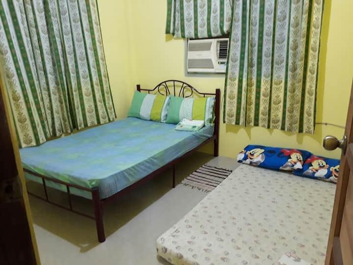 Silid ni Kathlyn Ganda (airconditioned room)