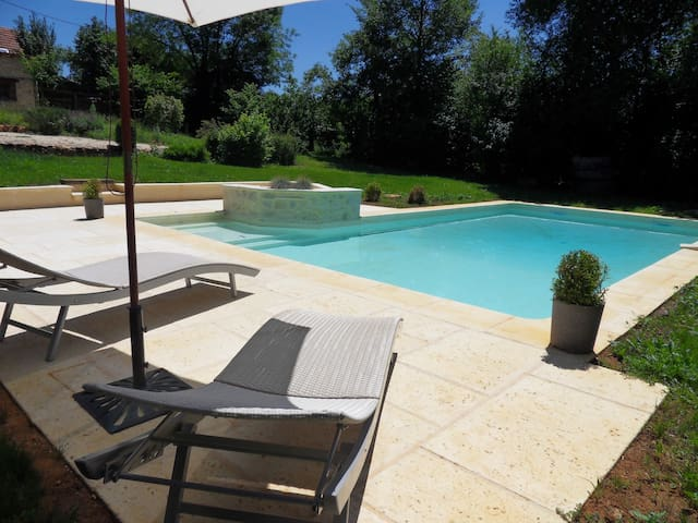 Les bergeries de Carmensac avec piscine privative - Meyrals - วิลล่า