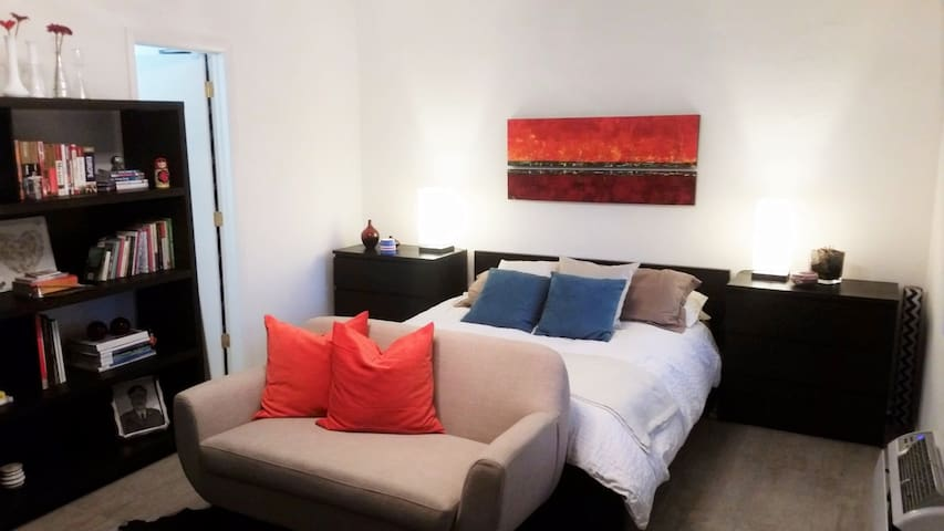 Cozy modern Studio near Miami Beach, Renovated - El Portal - Apartment