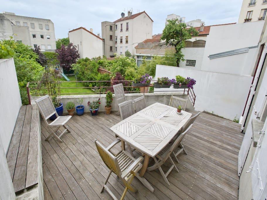 Terrasse et Jardin Privatif 2