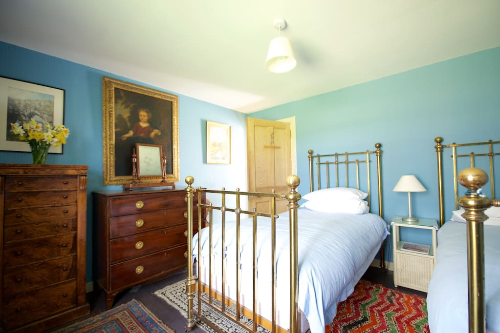 The  Twin  Room, Callachally  House.