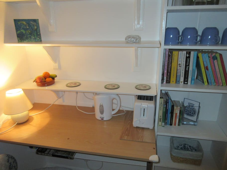 Tea and coffee making facilities.
