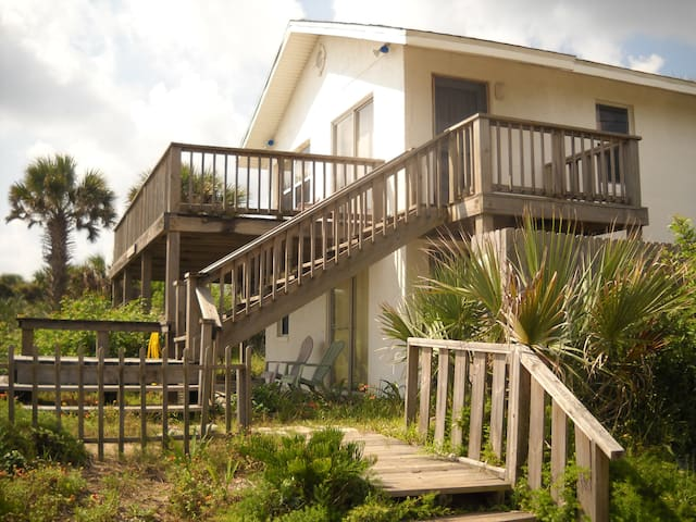 Casas de la Playa - Downstairs Unit - Flagler Beach - Departamento