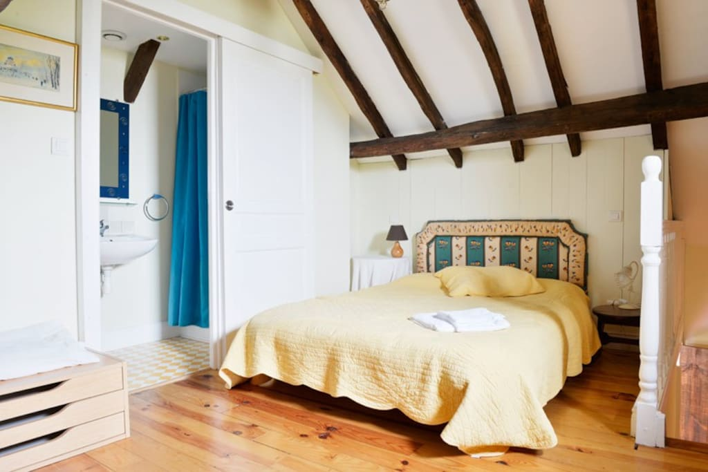 The double bedroom on first floor