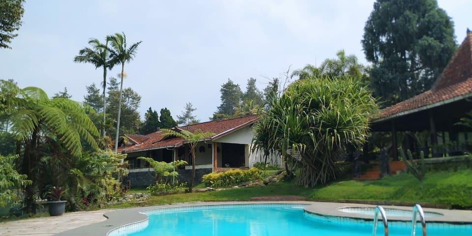 Villa deket cibodas gunung pangrango 4 kamar