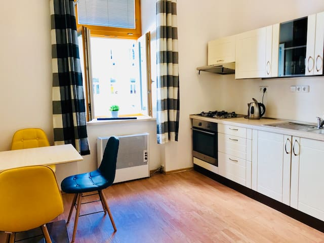 Cozy apartment close to Castle & Charles Bridge