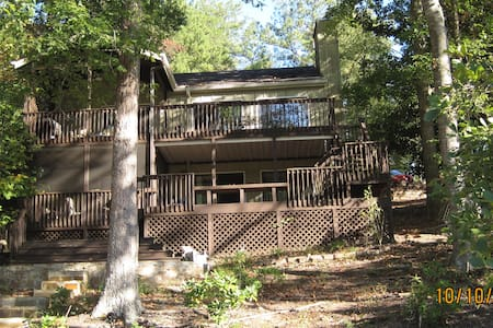 Lake Arrowhead GA Lake House - Waleska - บ้าน