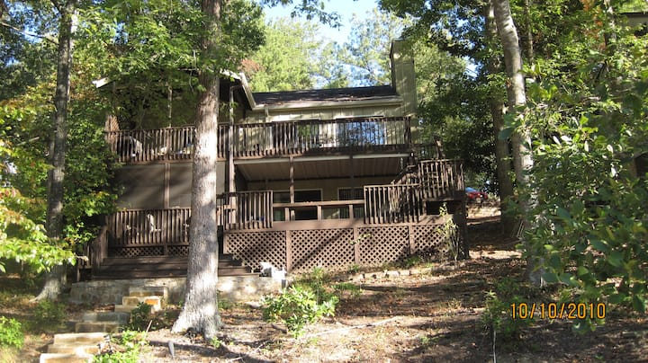 Lake Arrowhead GA Lake House