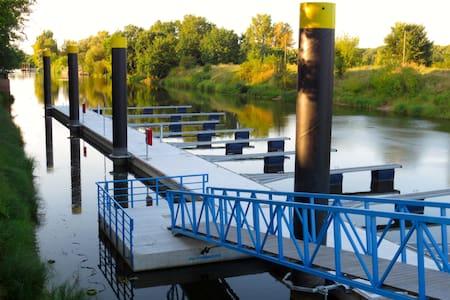OderKate1-Marina Winterhafen-am Oder-Neiße-Radweg