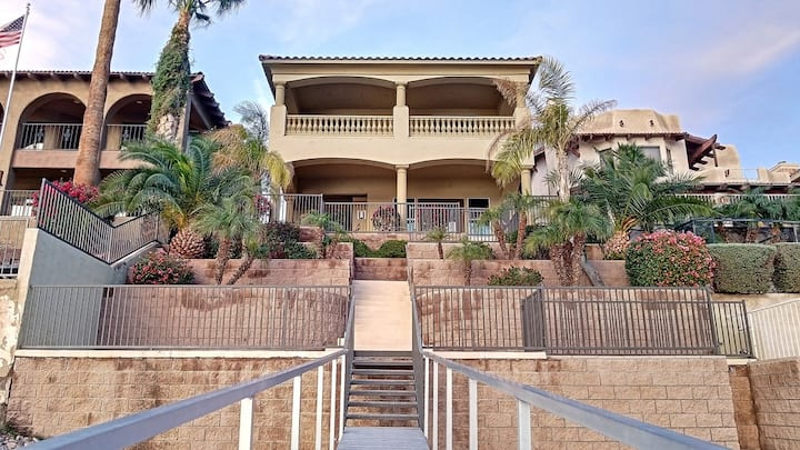 Upscale Riverfront Home With The Best View Around!
