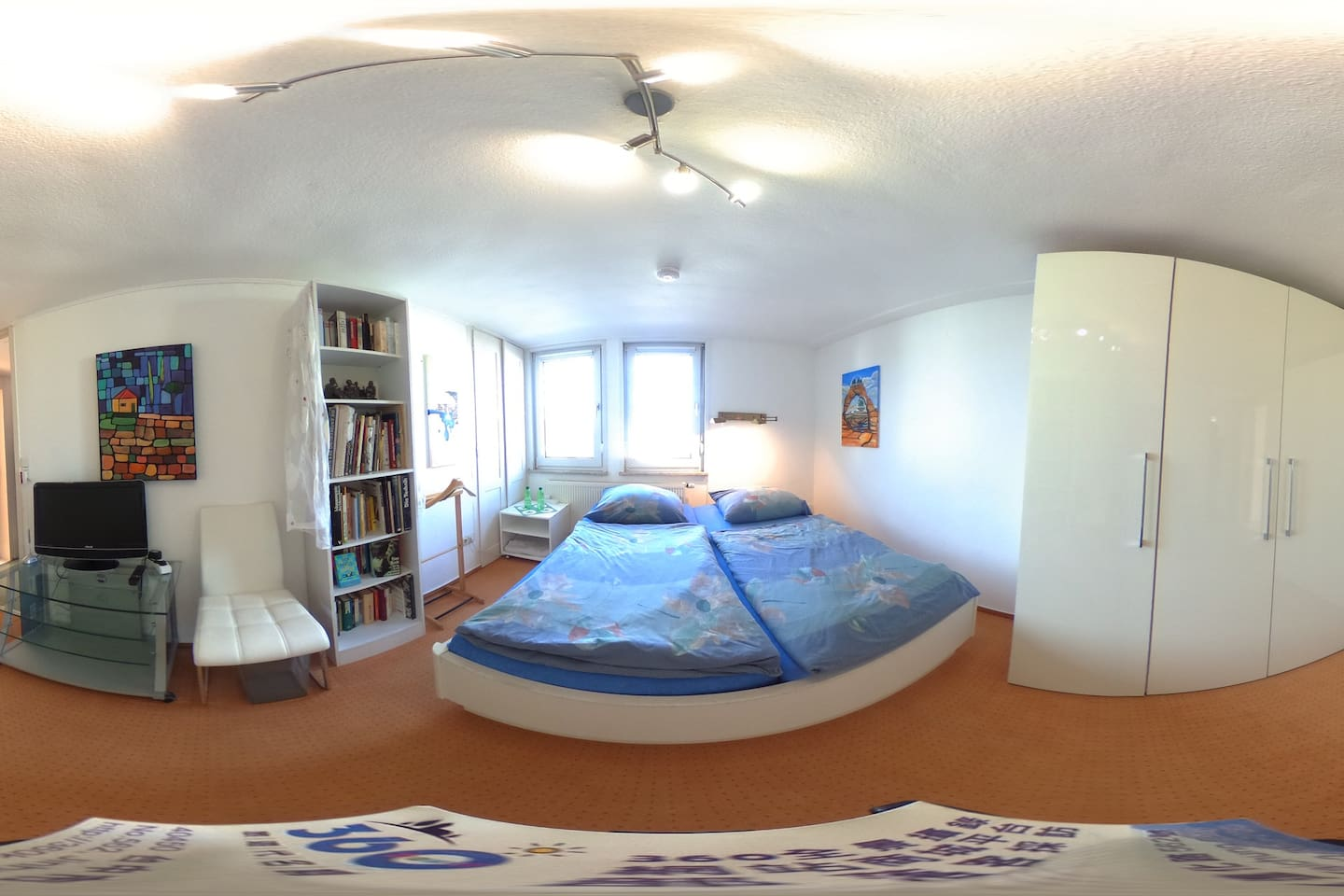 Room Niki, Super-king-size double bed (183 x 200), 2 persons, first floor and mountain view