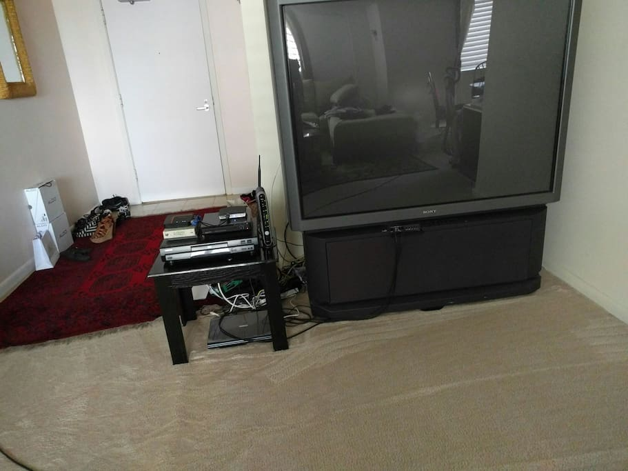 61 Inch TV with Cable and wifi