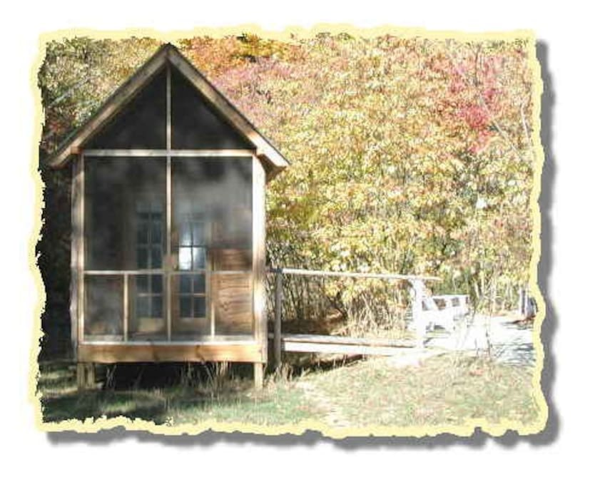 1 of 6 cabins on the property