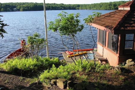 Lakefront 6 bedroom, sleeps 16+ - Arrowhead Lake - Casa