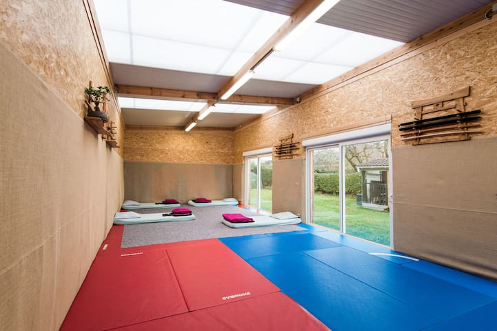 Dojo 80m2 $ 7km Lille perfect group - Wambrechies