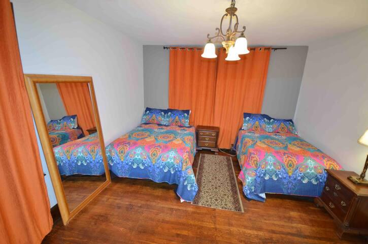 NEWARK Motel house NJ 2 TIME SQUARE NYC bus 35 min