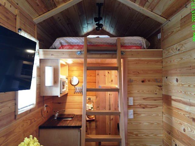 Tiny House Rental Waco or Temple TX - Waco - Casa