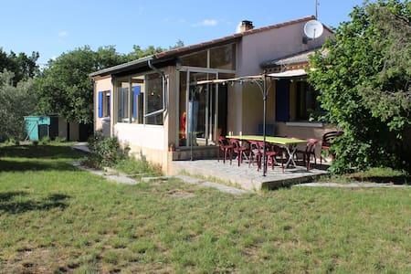 Maison 7 personnes et grand jardin - Lavilledieu