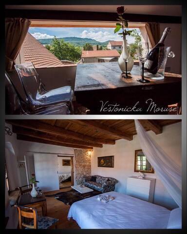Romantické Apartmány Moruše