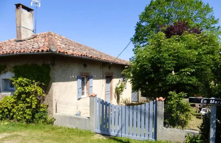 House with 3 bedrooms in Martisserre, with enclosed garden