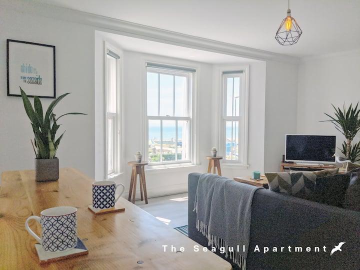 ☆The Seagull Apartment☆ Old Town + Sea View 2 Bed